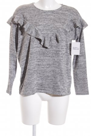 New Look Strickpullover grau Casual-Look