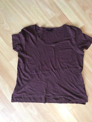 New Look T-Shirt weinrot