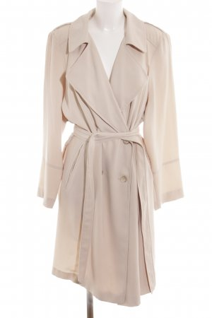 New Look Trench Coat cream simple style