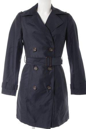 New Look Trenchcoat dunkelblau Business-Look