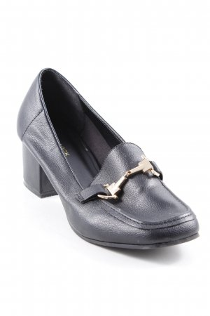 New Look Loafer nero-oro stile professionale