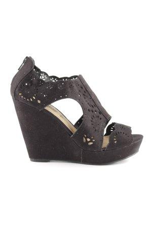 New Look Wedges Sandaletten schwarz Casual-Look