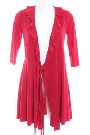 New Look Vestido cruzado rojo look casual