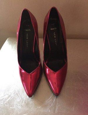 New Look wide fit metallic high heels