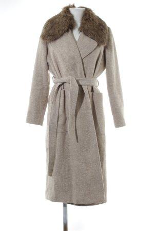 New Look Winterjacke hellgrau-bronzefarben meliert Elegant