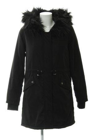New Look Winterjacke schwarz Casual-Look