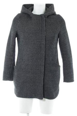 New Look Winterjacke schwarz-weiß Casual-Look