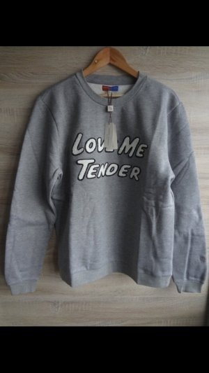 NEW Opening Ceremony x Elvis Sweater shirt Pullover unisex grey love me tender L