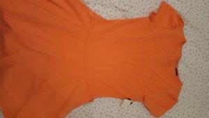 new  orange dress from splash