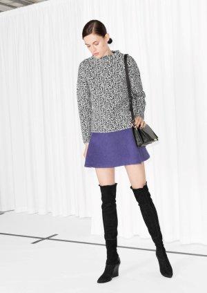 New &other stories Wool-Blend Skirt, EU 36