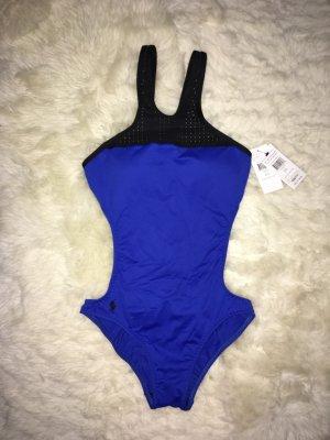 Ralph Lauren Zwempak zwart-blauw
