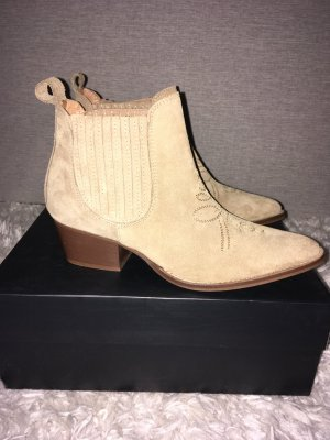 Shoe the Bear Western Booties beige