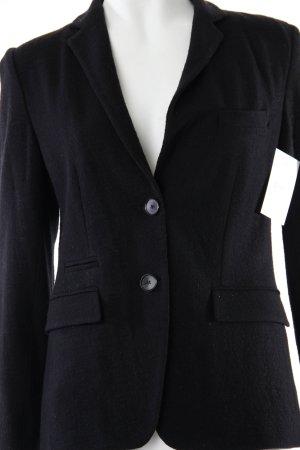 New York Industrie Woll-Blazer schwarz