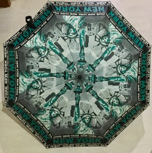Paraplu veelkleurig