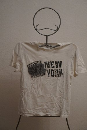 (The Mercer) NY Shirt met print wit Katoen