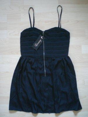 New Yorker Amisu Kleid Bandeau 36 38 S M plissiert Falten NEU! Plissee Minikleid