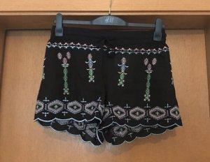New Yorker Amisu Shorts schwarz bunt gr. M Blogger