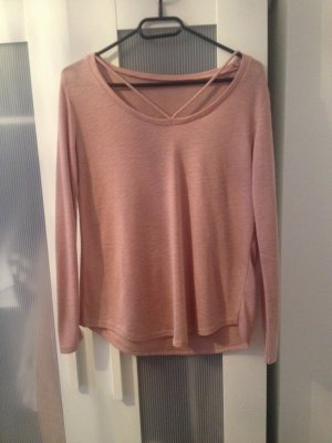 New Yorker Pullover in Rosa