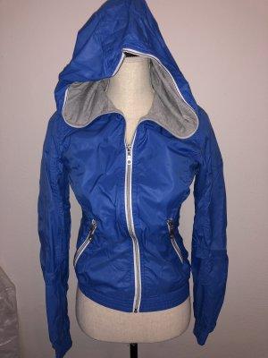 Fishbone Raincoat neon blue-blue