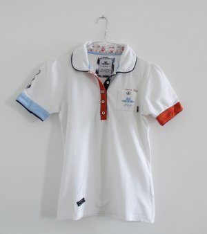 NZA (New Zealand Aukland) Polo shirt veelkleurig Katoen