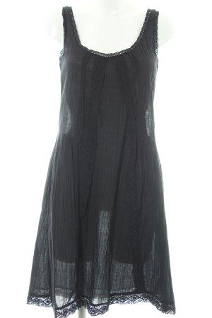 Next Vestido línea A negro look Boho