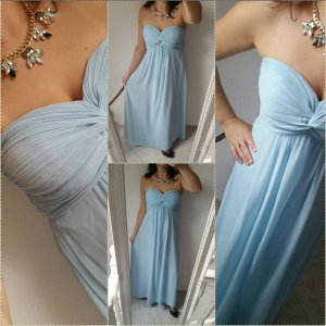 Next Abendkleid 36 hellblau