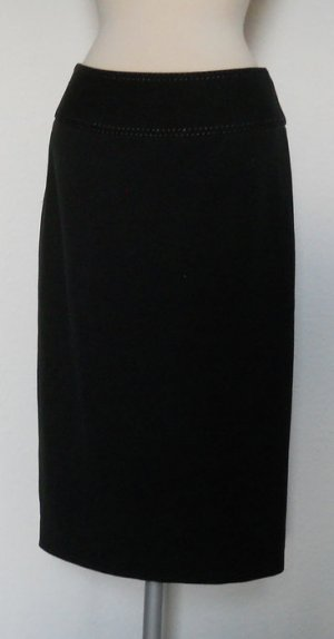 Next Bleistift Rock pencilskirt schwarz Gr. UK 8 36 S Büro business gothic