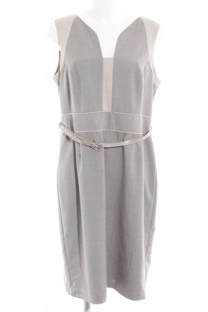 Next Abito longuette beige-grigio chiaro stile professionale