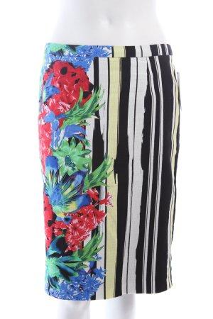 Next Falda de tubo estampado floral estilo extravagante