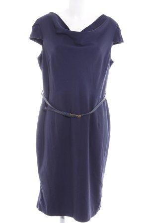 Next Vestido ceñido de tubo azul oscuro estilo «business»