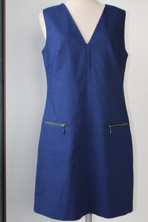Next Etuikleid Gr. UK 12 EUR 40 blau 61 % Baumwolle Elastananteil