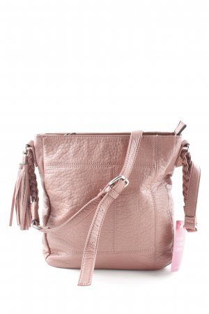 Next Carry Bag dusky pink casual look