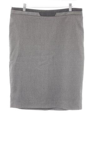 Next Falda de talle alto gris-taupe estilo «business»