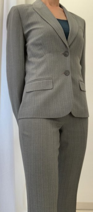 Next Costume business gris clair-gris polyester
