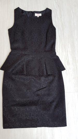 Next Peplum jurk zwart