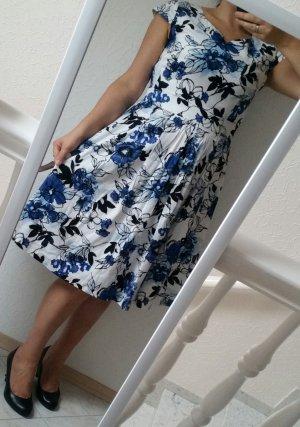 Next Kleid mit Blumen 40