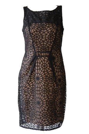 Next Kleid mit geometrischer Spitze