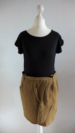 NEXT Kleid Shirt Rock schwarz braun beige Gr. 36 neu mit Etikett