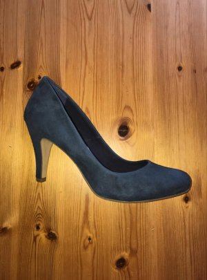 Next Leather Collection Pumps dunkelblau