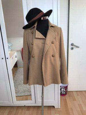 Next Abrigo corto marrón claro