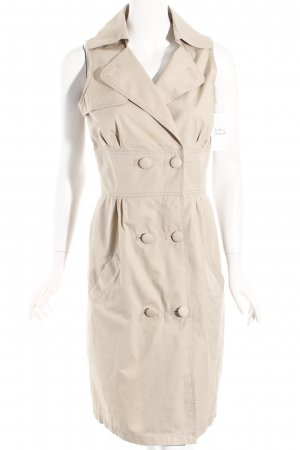Next Coat Dress oatmeal casual look