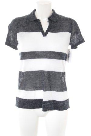 Next Polo-Shirt dunkelblau-weiß meliert Casual-Look