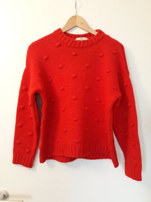 Next Pullover rot Dots Gr.S