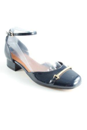 Next Sandalen met bandjes donkerblauw-beige casual uitstraling