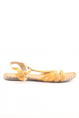 Next Riemchen-Sandalen hellorange Street-Fashion-Look