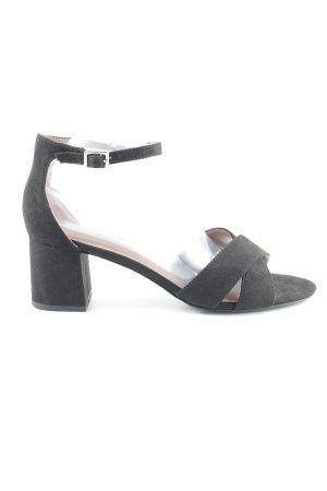 Next Riemchen-Sandaletten schwarz Elegant