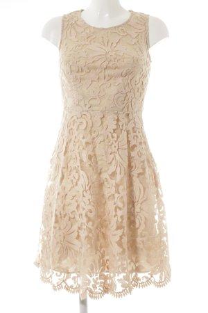 Next Vestido de encaje nude-albaricoque estampado floral look nude