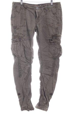 Next Pantalón tipo suéter gris verdoso-caqui estilo skater