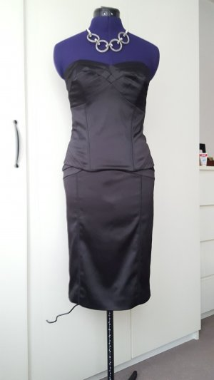 Next Vestido corsage negro Poliéster