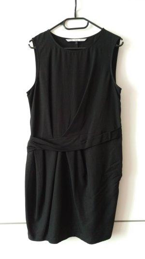 Next UK Größe 14 Kleid Schwarz